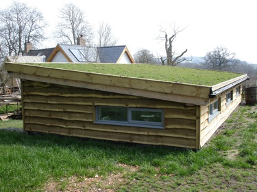 Low Pitch Turf Roof ...